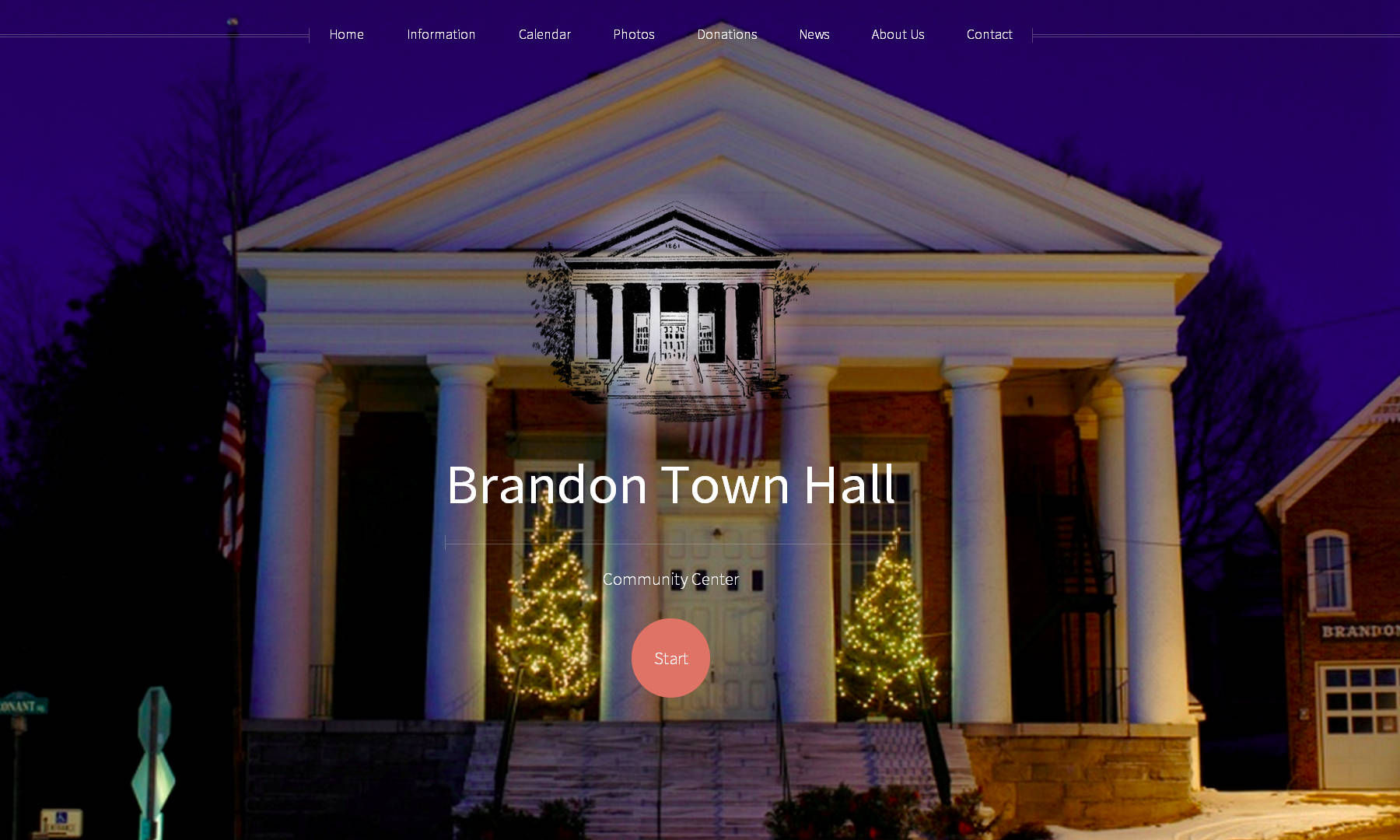 Brandon Town Hall ScreenShot