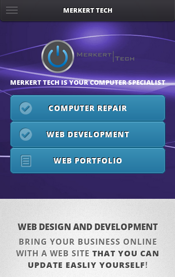 Merkert Tech Mobile ScreenShot