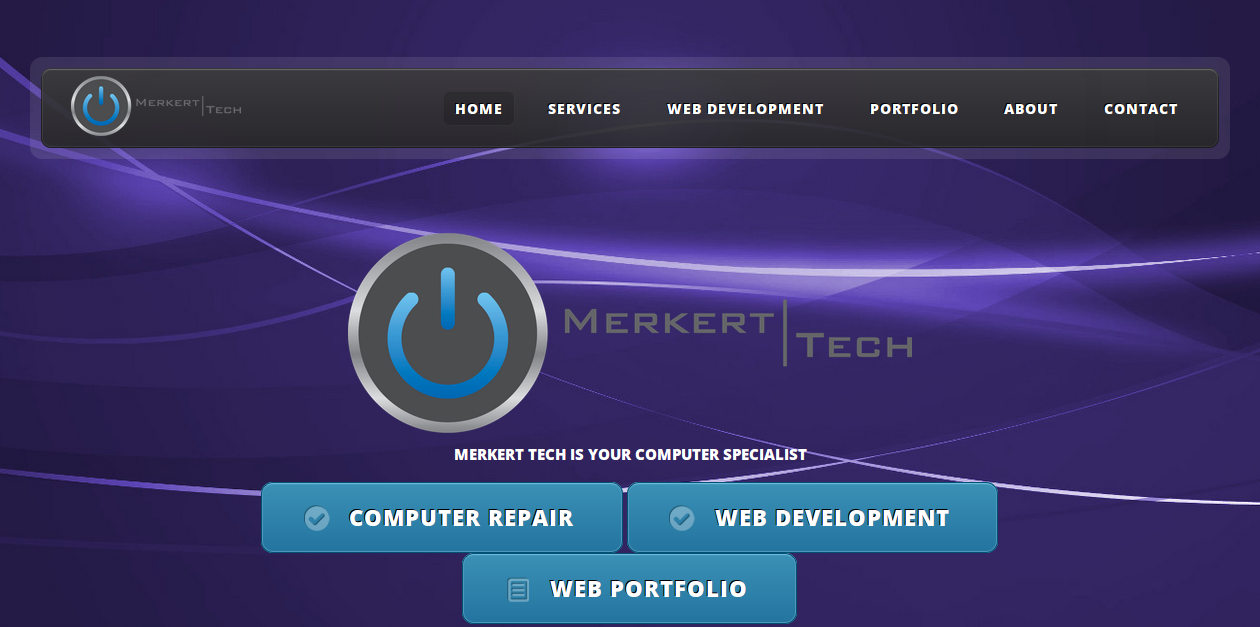 Merkert Tech Screenshot